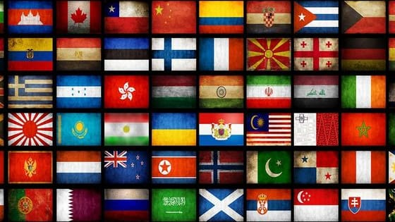 We are so used to seeing National Flags everywhere, that we hardly notice them. But do you really know what Country behind it? Let's Find It Out.