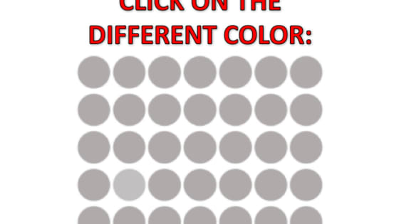 Do you spot it? This quiz will test your vision and brain acuity. Let's see how well you fare!