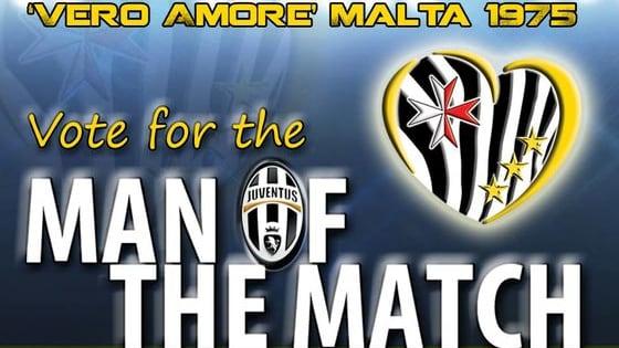 Juventus Club DOC Vero Amore Malta 1975