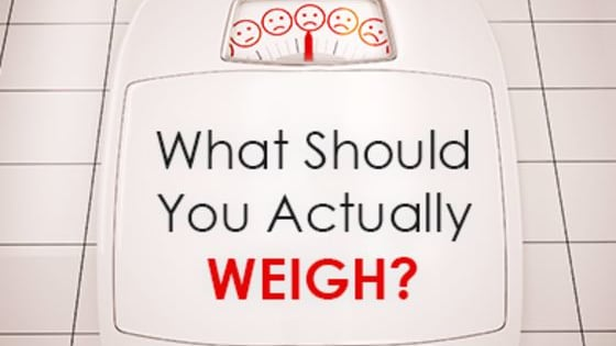 Do your eating and exercise habits truly represent your body's weight?