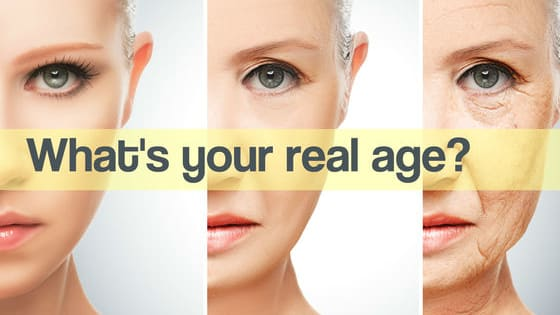 30 questions to get your REAL age!!