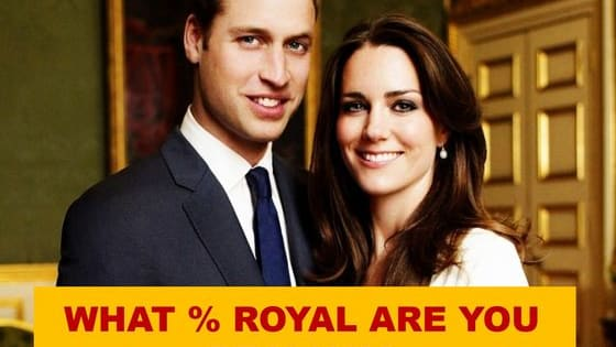 The Duke and Dutchess of Cambridge have just announced they are pregnant with their third child. It seems like the appropriate time to see if you can roll with the royals! Find out now if you have any royal blood running through your veins.