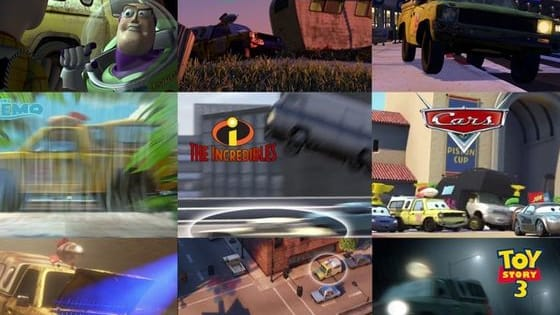 Click on each movie to see how it's connected to other Pixar films. Prepare to have your mind blown.