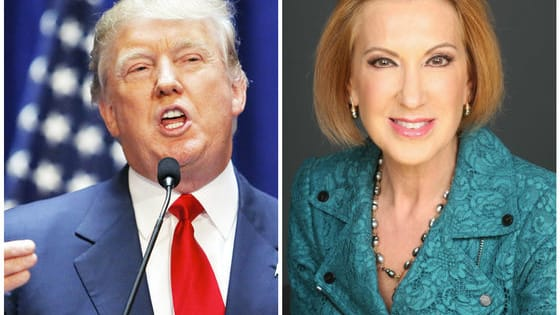 """Trump is at it again! He mocked his fellow Republican candidate Carly Fiorina's physical appearance by saying, """"Look at that face. Would anyone vote for that?"""" Fiorina responded with, """"Maybe, just maybe, I'm getting under his skin a little bit because I am climbing in the polls."""""""