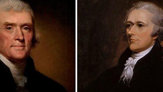Are you more like Hamilton or Jefferson?