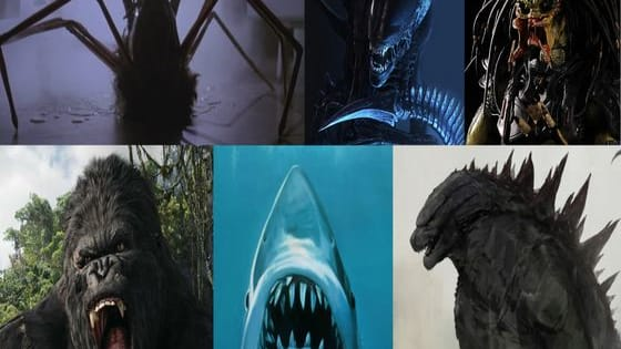 Jaws, Godzilla, King Kong, The Thing, the Xenomorph, or the Predator... Which of these six movie monsters would you be?