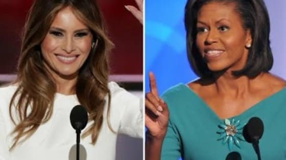 It's a good old-fashioned First Lady Face Off! Let's see how these two ladies stack up against each other...