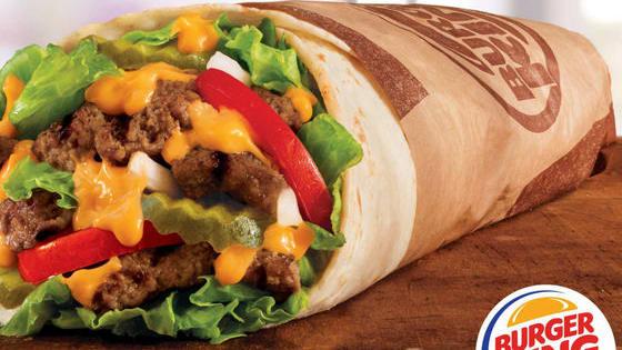 It's a Whopper Burger...as a burrito!