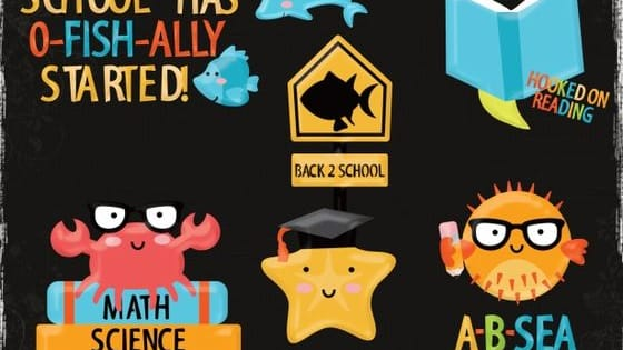 Take the personality test below to see what kind of back to school sea critter you are!