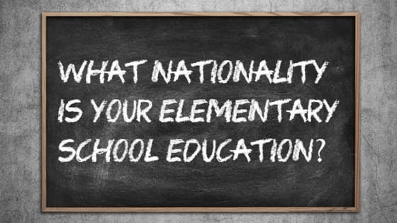 What was your elementary school education really like?
