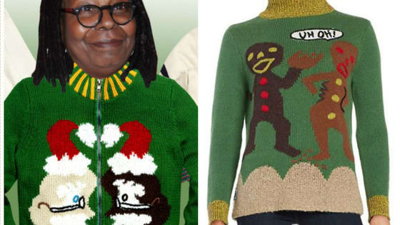 Whoopi Goldberg already has an Emmy, Grammy, Oscar, and Tony. Now, she has a line of ugly sweaters just in time for the holidays, too!