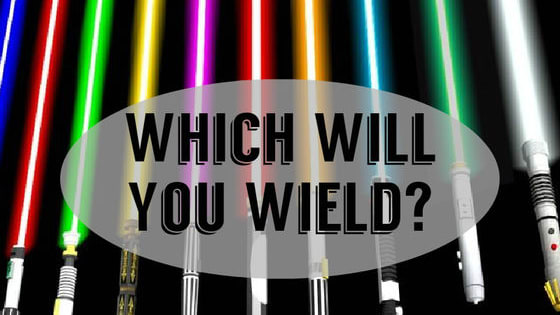 Star Wars: Episode VII (The Force Awakens) theatrical release date is fast approaching! We wanna put our lightsabers where our mouths are and guess what color your lightsaber would be.