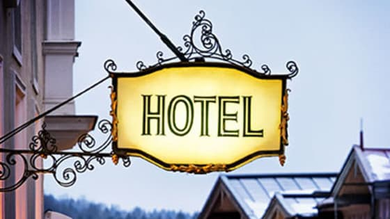 Can you guess which TV Show/Movie these famous hotels have appeared in?