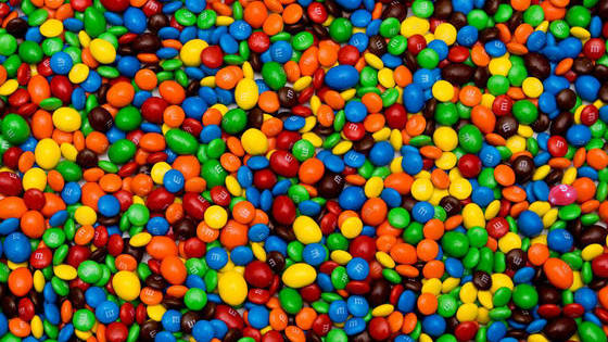 There is a lone Skittle hiding in these M&M candies. How fast can you find it? Have Fun!!!