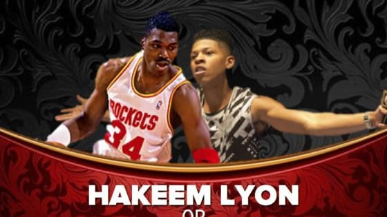 The Artist Formerly Known As Hakeem Lyon or Hakeem the Dream? Please share your results in the comments section. Thank you! http://tinyurl.com/hc3phxb