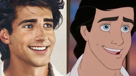 Amazing artist Jirka Väätäinen has transformed our most beloved Disney characters, and gave us one of the most beautiful portraits we've ever seen.  Prince Eric is stealing out hearts again!