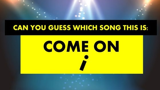 Does your music knowledge allow you to figure out these visual riddles? Find out now!
