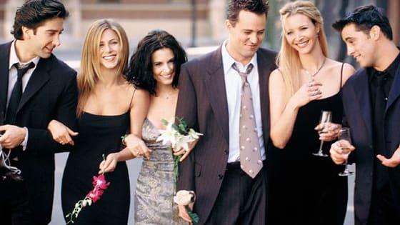 Ross? Rachel? Joey? Chandler? Phoebe? Or Monica?