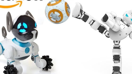 5 AWESOME Kids Tech Toys on Amazon (Robotics)  [Click Show More]    Here is list of robotics Kids Tech Toys on amazon :  0:07 - UBTECH Alpha 1S Robotics - http://amzn.to/2lcJHi9 2:20 - Sphero Star Wars BB-8 Robot - http://amzn.to/2lcD4MB 4:14 - Wonder Workshop Dash Robot - http://amzn.to/2lcwfuE 6:17 - WowWee CHiP Robot Toy Dog - http://amzn.to/2lcCgau 7:30 - Fisher-Price Think & Learn Code-a-pillar - http://amzn.to/2lcMJTv
