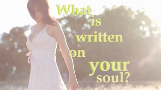 We were all born with a celestial name etched on our soul. What is yours?