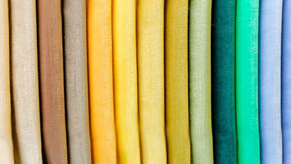Take this quiz to find out exactly what textile you are… nylon, chiffon, cotton, spandex, wool, denim, or silk.