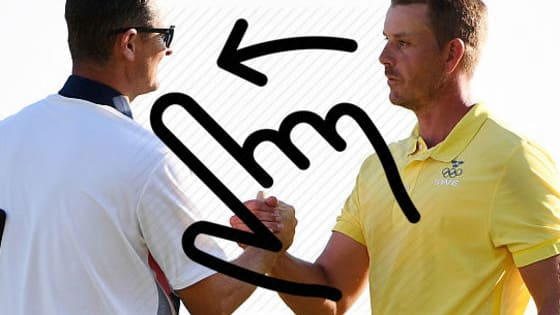 Justin Rose with Henrik Stenson. Tommy Fleetwood with Tyrrell Hatton, Sergio Garcia with Jon Rahm - swipe these potential pairings?