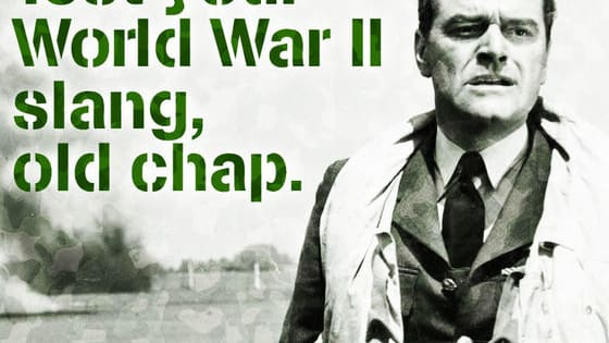 Be a champ and test your knowledge of World War II slang, old chap. Take the test and share your score...  The classic Battle Of Britain film, ANGELS ONE FIVE lands on Blu-ray and DVD, fully remastered on 24th August. Visit http://po.st/AngelsOneFive for more details.