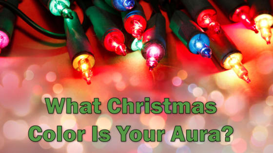 Can we guess which christmas color best describes your aura?