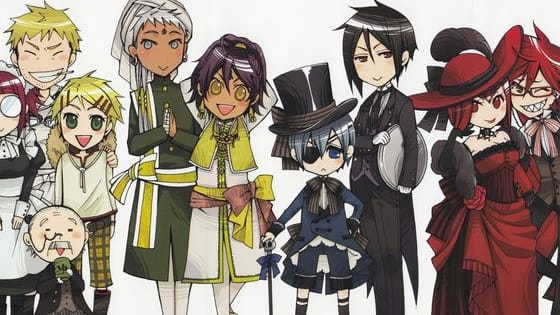 Find Out What Character You Are From Black Butler the Anime!