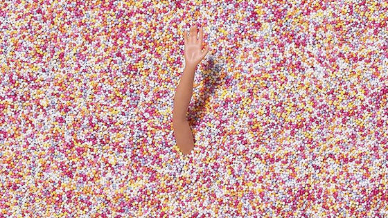I scream, you scream, we all need to be screaming about the Museum of Ice Cream right now because you can SWIM IN SPRINKLES.