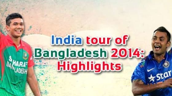 India toured Bangladesh at the same time of the year in 2014. Let see how much you remember about the last tour!