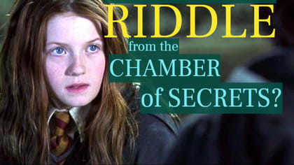Two true brain teasers fit for aspiring witches & wizards - deep from the bowels of the Chamber of Secrets! Can you master both?