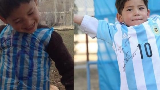 This boy meets hero story will warm your heart!