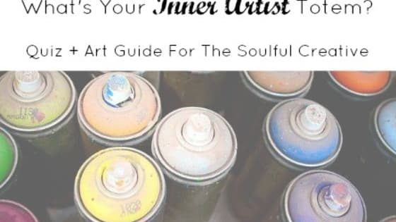 Do you want to know which creative medium you can use to heal you on a soul level?  Then I created this simple quiz for you to find out which creative tool will release your inner artist totem and heal your spirit.