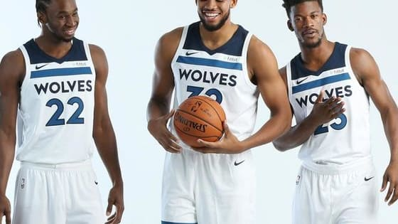 Jimmy? KAT? Wiggins? See if you can match the fact to the Timberwolves player!!