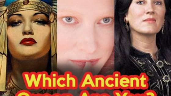 Take our quiz and find out which ancient queen you are!