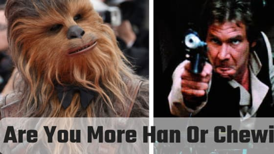 Are you a scoundrel, or are you a Wookiee?