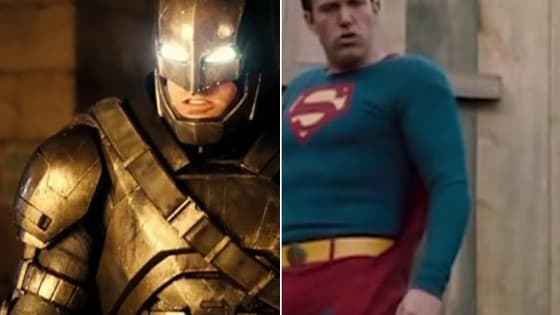 La magia de la edición convirtió al actor en el protagonista absoluto de 'Batman v Superman: Dawn of Justice'.