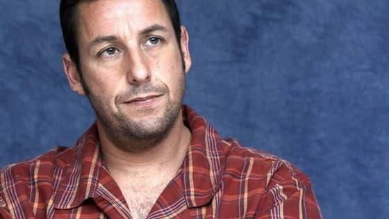 Each individual icon relates to a movie which features Adam Sandler. Can you recall which movie it is?