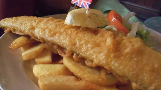 What will it be? Fish and chips, a nice English brekkie, or perhaps an apple crumble?
