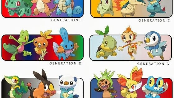 Choose your starter! It's gonna be your best friend! But first, are you a boy, or a girl?