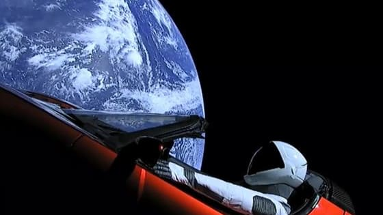 Following the launch of the Tesla Roadster into space, can you tell what else has been sent into space?