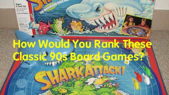 Are you a master board game player? Than you should have no trouble ranking these 90s board games from best to worst!