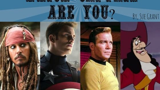 Which fictional captain are you? Find out!