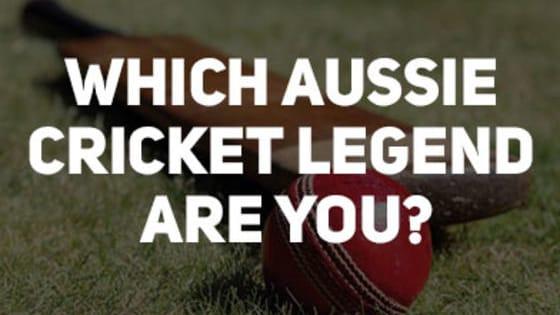 Which Aussie Cricket Legend Are You?