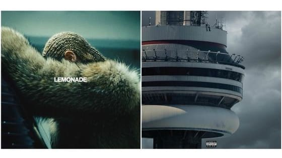 """From two of 2016's biggest albums, are you more like Beyonce's visual album """"Lemonade"""" or Drake's fourth studio album """"Views""""?"""