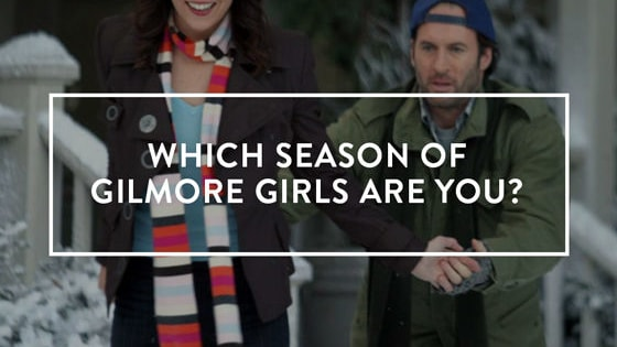 With the excitement of the Gilmore Girls revival growing by the day, you've got a very important question on your mind: which of the seven original seasons am I? Each season is so different, and they're all great in their own way. But are you the moments when Luke and Lorelai finally get together and dance at Liz's wedding, or are you the season where Jess gets pecked by a swan? Take our quiz to answer this very vital question.