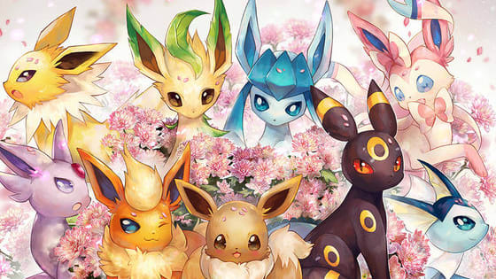 Fairy, Fire, Ice, Dark So many Eeveelution types! Let's see which 1 you are!