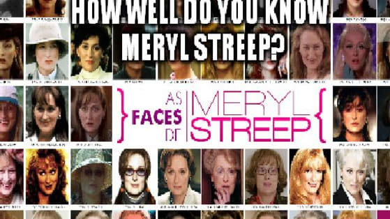 19 Oscar nominations!! No actor or actress has received more than Meryl Streep. How well do you know her Oscar history?