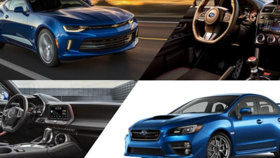 Which high-performance car would YOU rather own, the Subaru WRX STI or Chevrolet Camaro SS?